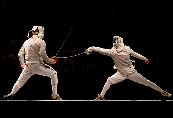 Watch This Fencing Action Video